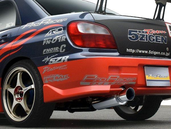 5ZIGEN Pro Racer ZZ - Impreza WRX/STi (01-07)